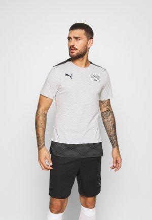 SCHWEIZ SFV CASUALS TEE - T-shirts print - light grey heather