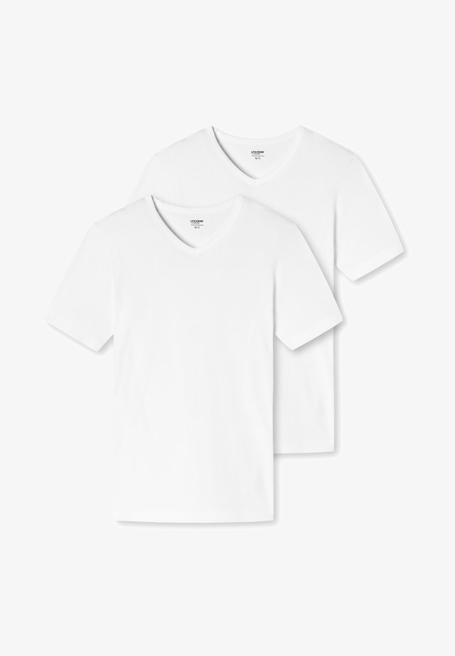 UNCOVER - T-shirt basic - weiss