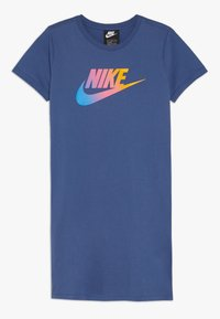 Nike Sportswear - DRESS FUTURA - Vestito di maglina - mystic navy - 0