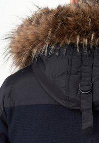 INDICODE JEANS - Winter coat - navy mix - 9