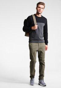 Pier One - Sweatshirt - mottled dark grey - 1