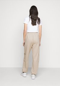 Topshop Tall - UTILITY JOGGER - Tracksuit bottoms - stone - 2