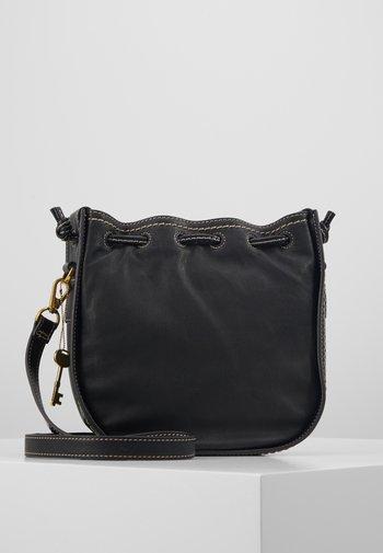 PALMER - Across body bag - black