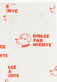 TINYCOTTONS - DOGS PANT - Legíny - off-white/red - 3