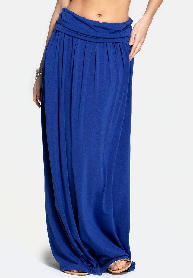 Plooirok - royal blue