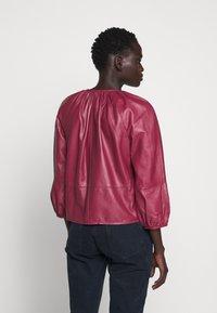 MAX&Co. - DEPONGO - Leather jacket - capnella rose - 2