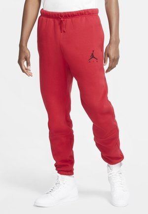 Tracksuit bottoms - gym red/gym red/gym red/black