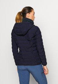 CMP - WOMAN JACKET FIX HOOD - Outdoor jakke - dark blue - 2