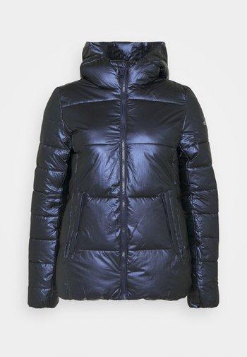 HOODED JACKET LEGACY - Vinterjakke - dark blue