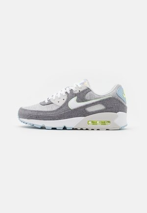 AIR MAX 90 NRG UNISEX - Sneaker low - vast grey/white/barely volt/celestine blue/bright crimson/black
