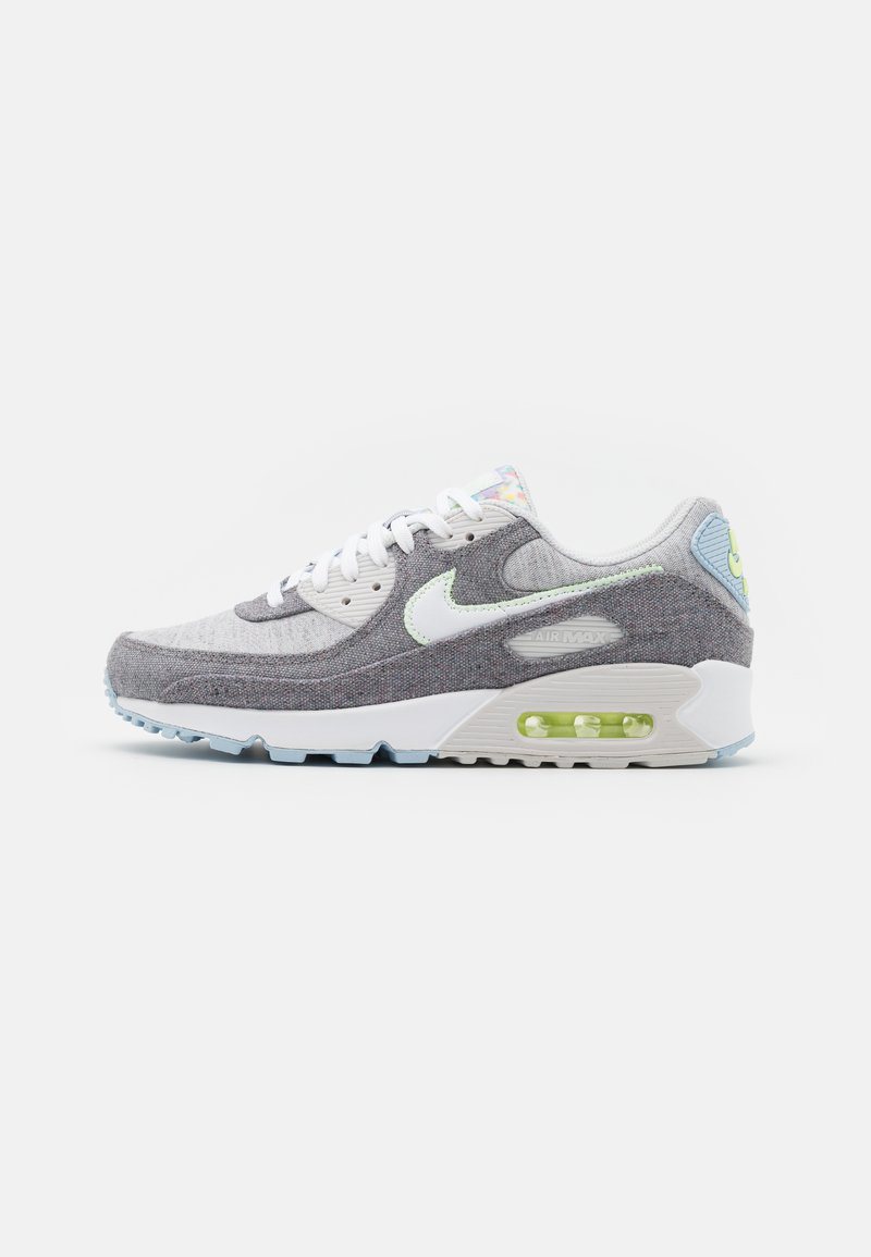 Nike Sportswear - AIR MAX 90 NRG UNISEX - Sneakers laag - vast grey/white/barely volt/celestine blue/bright crimson/black