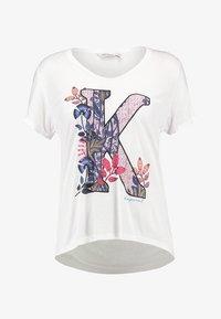 FRERE - Print T-shirt - white