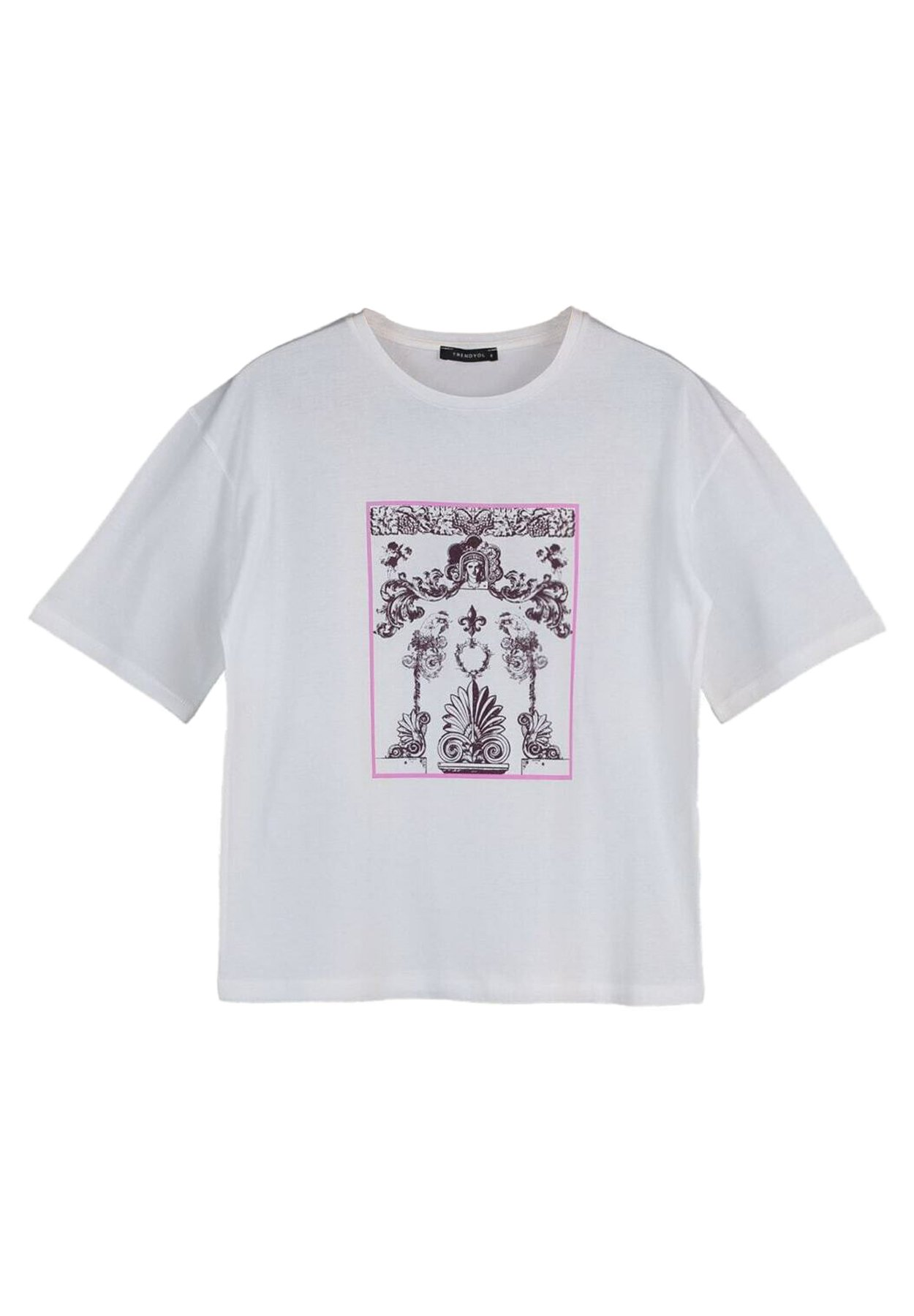 Femme TRENDYOL PARENT-101797549 - T-shirt imprimé