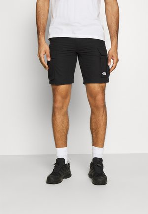ANTICLINE CARGO SHORT - Pantalón corto de deporte - black