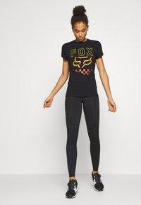 Fox Racing - RICHTER TEE  - T-Shirt print - black - 1