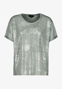 Monari - Print T-shirt - silber - 1