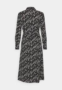 JDY - JDYPIPER ABOVE CALF DRESS - Skjortekjole - black/white - 1