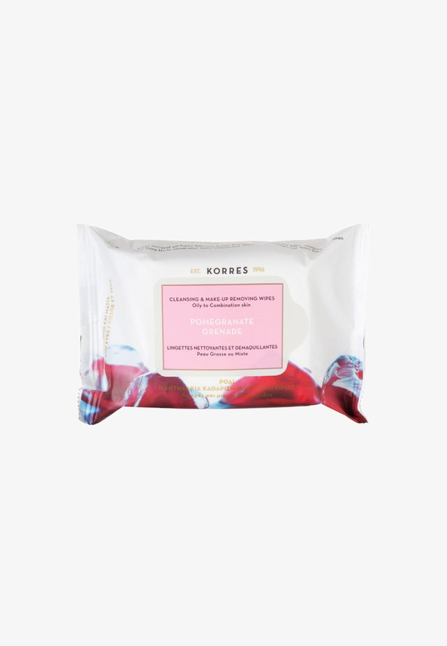 POMEGRANATE CLEANSING & MAKE-UP REMOVING WIPES 25 PIECES - Ansigtsrens - neutral