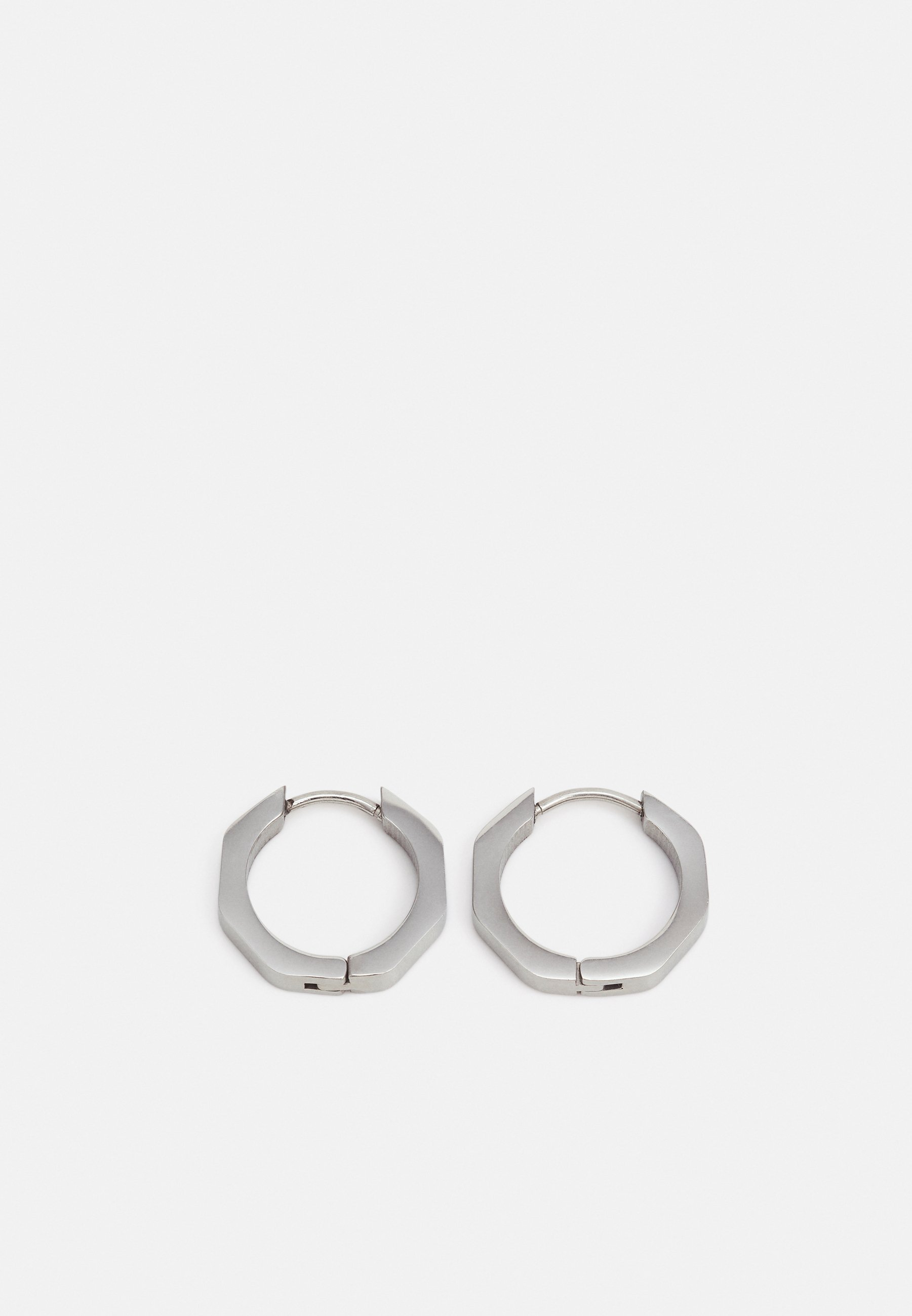 Homme ROUNDED HEX HOOPS - Boucles d'oreilles