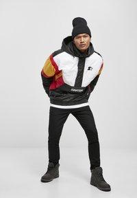 Starter - Outdoor jacket - blk/wht/starter red/golden - 1