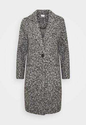 JDYLOOPY COATIGAN - Classic coat - salt/pepper