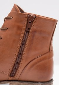 Pier One - Lace-up ankle boots - brandy - 6
