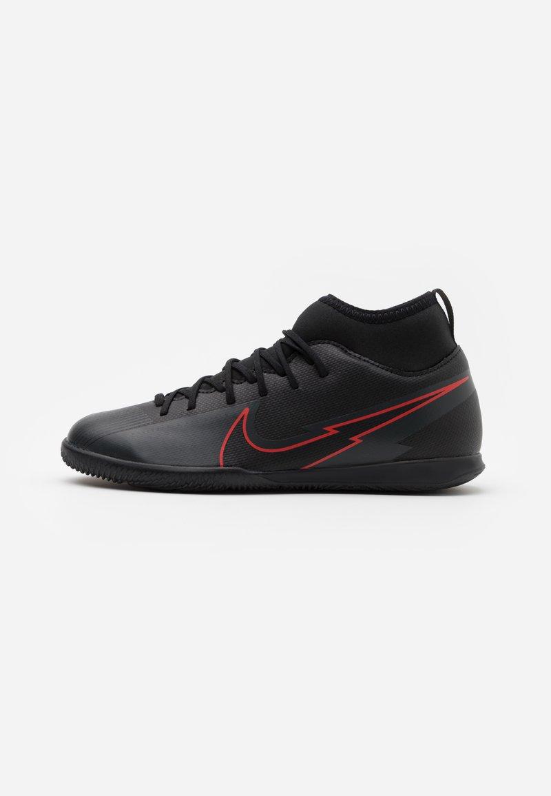 Nike Performance - MERCURIAL 7 CLUB IC - Halové fotbalové kopačky - black/dark smoke grey