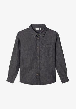 Shirt - black denim
