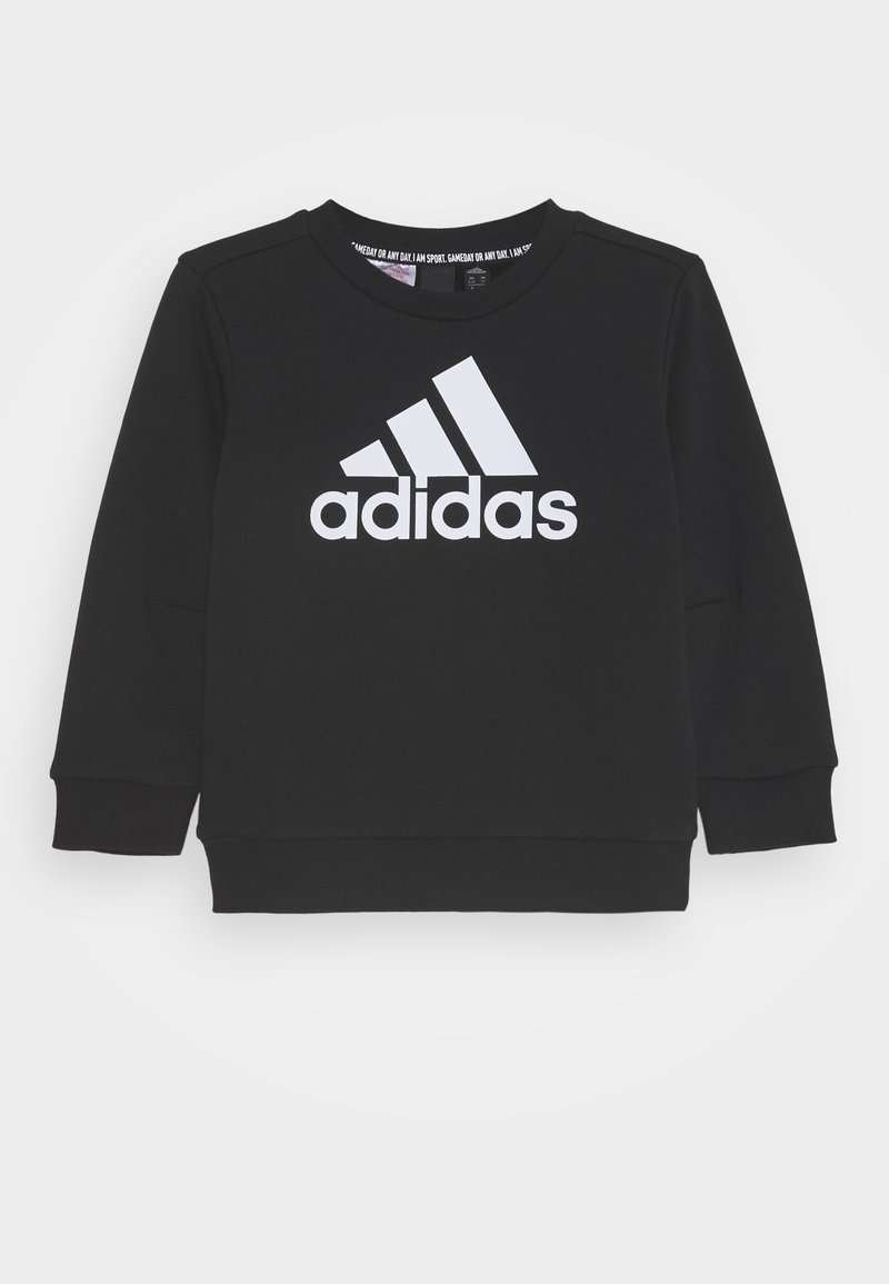 adidas Performance - CREW UNISEX - Sweatshirt - black/white