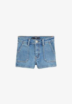 CANDY - Denim shorts - mittelblau