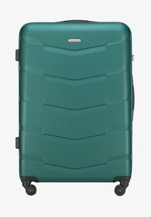 TRAVEL - Wheeled suitcase - green