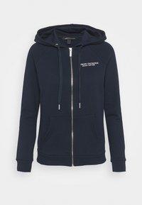 Armani Exchange - FELPA - Zip-up hoodie - navy - 3