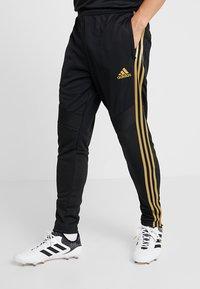 adidas Performance - REAL MADRID CLUB CLIMACOOL FOOTBALL PANTS - Tracksuit bottoms - black - 0
