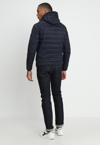 Armani Exchange - Kurtka puchowa - navy/melange grey - 2
