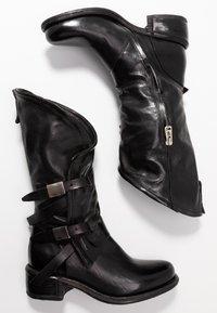 A.S.98 - Kovbojské/motorkářské boty - nero - 3