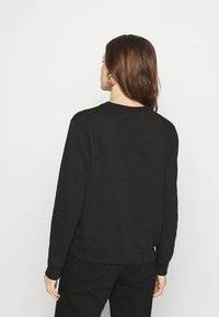 Calvin Klein Jeans - MONOGRAM LOGO CREW NECK - Mikina - black/party pink - 2