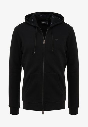 FELPA - Zip-up hoodie - nero