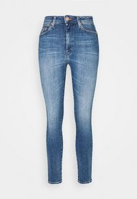 SYLVIA HIGH RISE SKINNY ANKLE - Jeans Skinny Fit - harlow mid blue