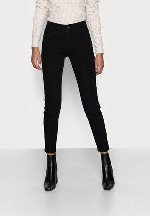 PCPEGGY - Skinny džíny - black