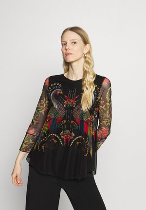Designed by Mr. Christian Lacroix - Blouse - black