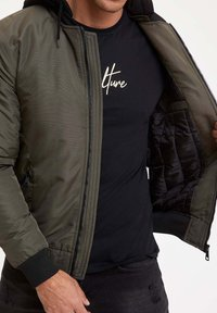DeFacto - Light jacket - khaki - 3