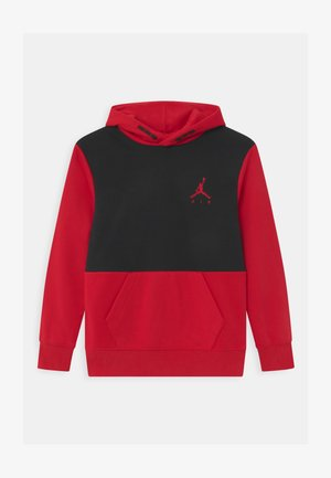 JUMPMAN AIR - Mikina s kapucí - black/gym red
