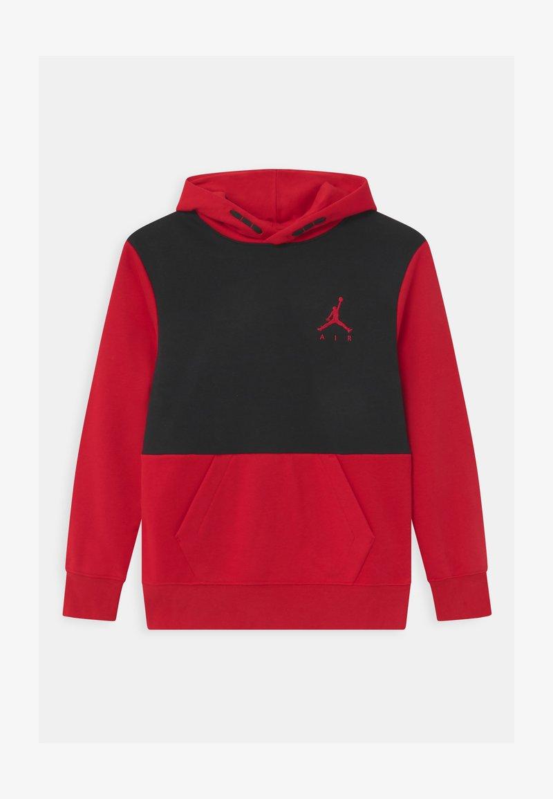 Jordan - JUMPMAN AIR - Hoodie - black/gymred