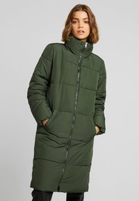 JDY - Classic coat - rifle green - 0