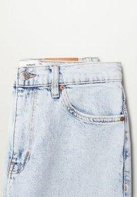 Mango - NEWMOM - Džíny Straight Fit - bleach blauw - 7
