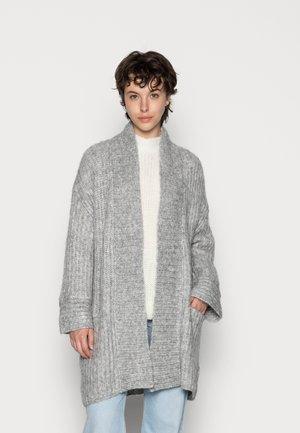 YASSUDANA CARDIGAN - Cardigan - light grey melange