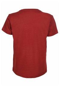 Elkline - Print T-shirt - syrahred - 1