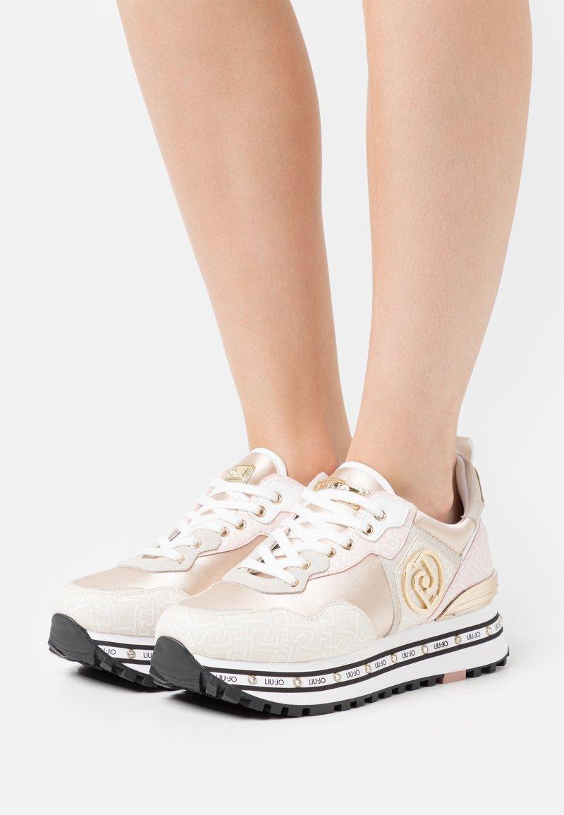 Liu Jo Jeans - MAXI  - Trainers - beige/pink