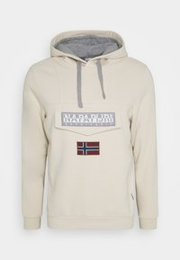 Napapijri - BURGEE WIN - Jersey con capucha - whitecap gray - 0