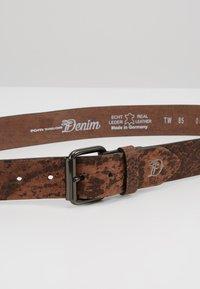 TOM TAILOR DENIM - Belt - dark brown - 4